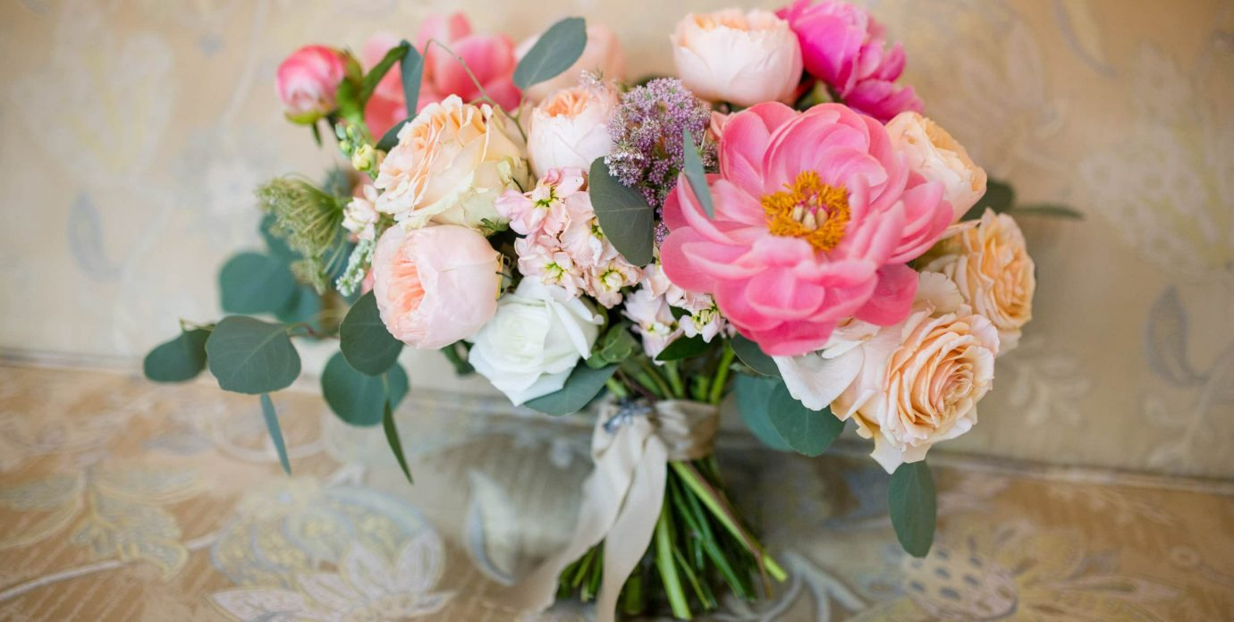 Manteo NC Wedding Bouquet of Fresh Flowers