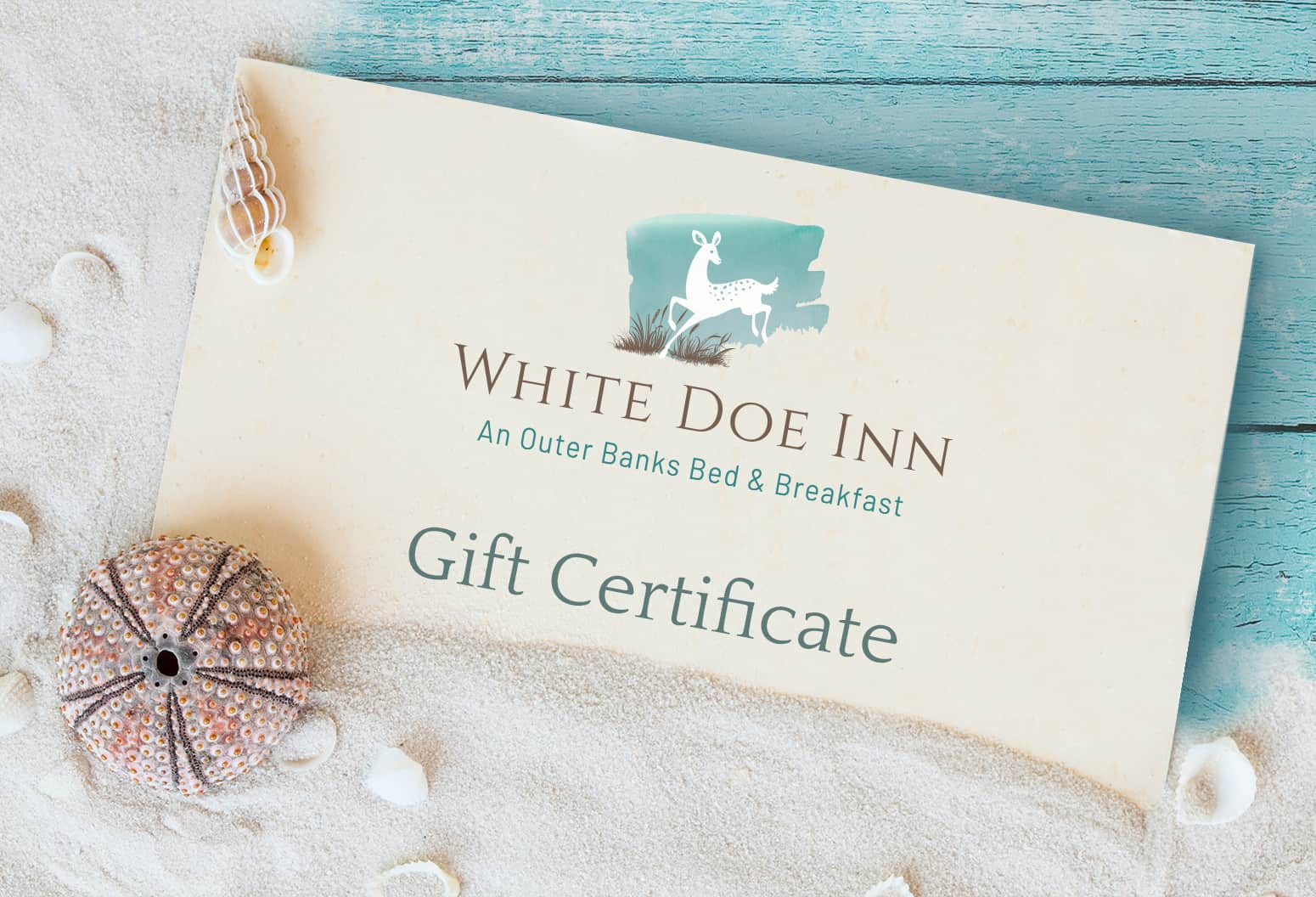 NC Travel Gift Certificate to Our Outer Banks Inn
