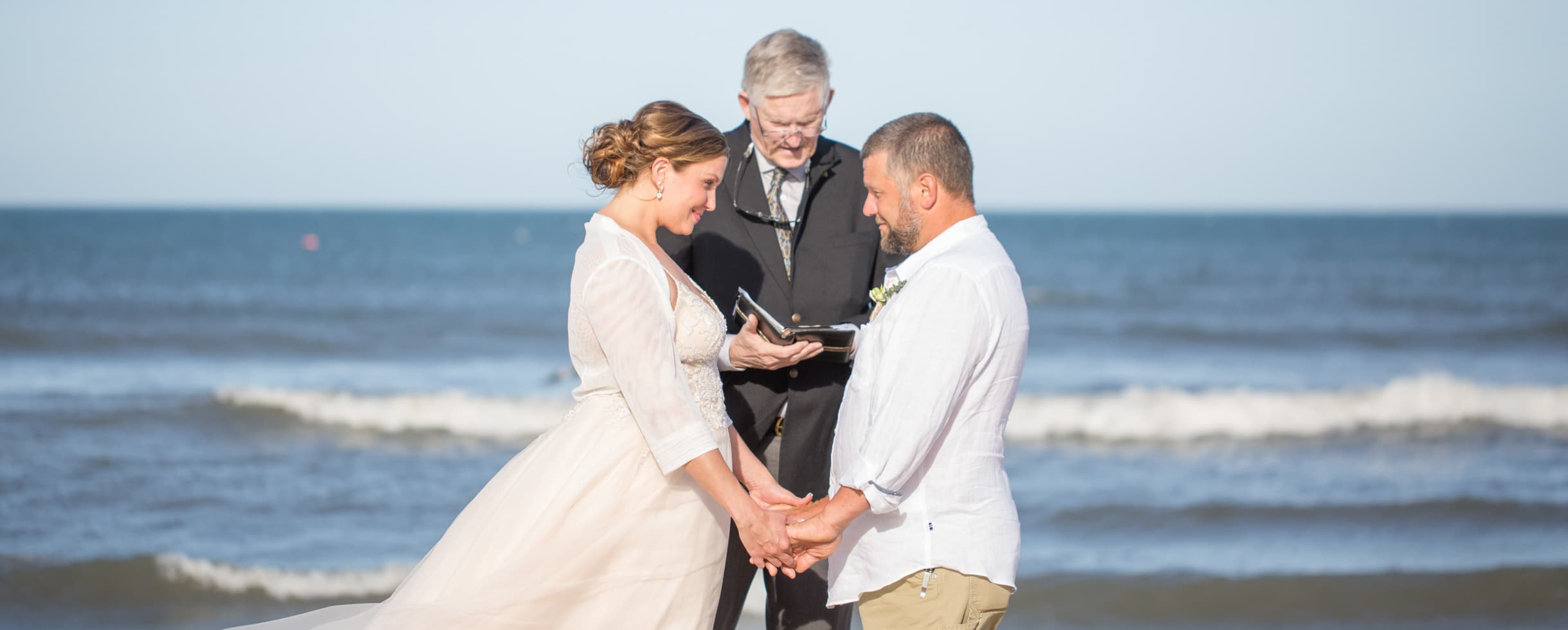 Romantic Beach Wedding on the Outer Banks