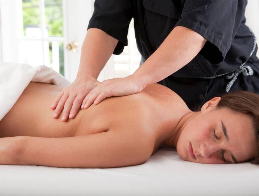 Outer Banks Spa Back Massage