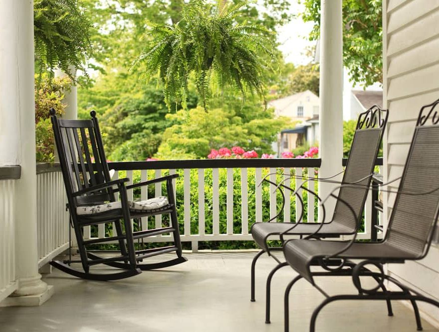 Outer Banks Inn Porch