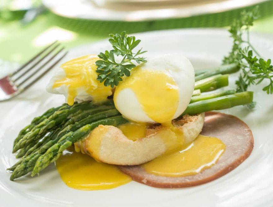 Manteo Inn Eggs Benedict