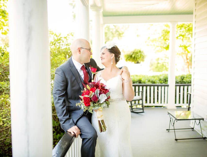 Outer Banks Wedding Couple