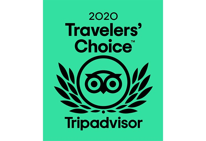 2020 Travelers' Choice Award for Our Roanoke Island Inn