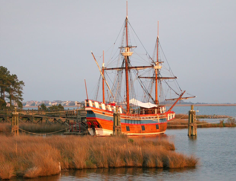 Elizabeth II Ship at Roanoke Island Festival Park