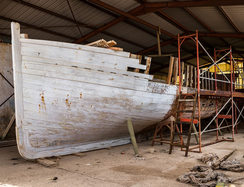 Boat Restoration at Roanoke Island Maritime Museum
