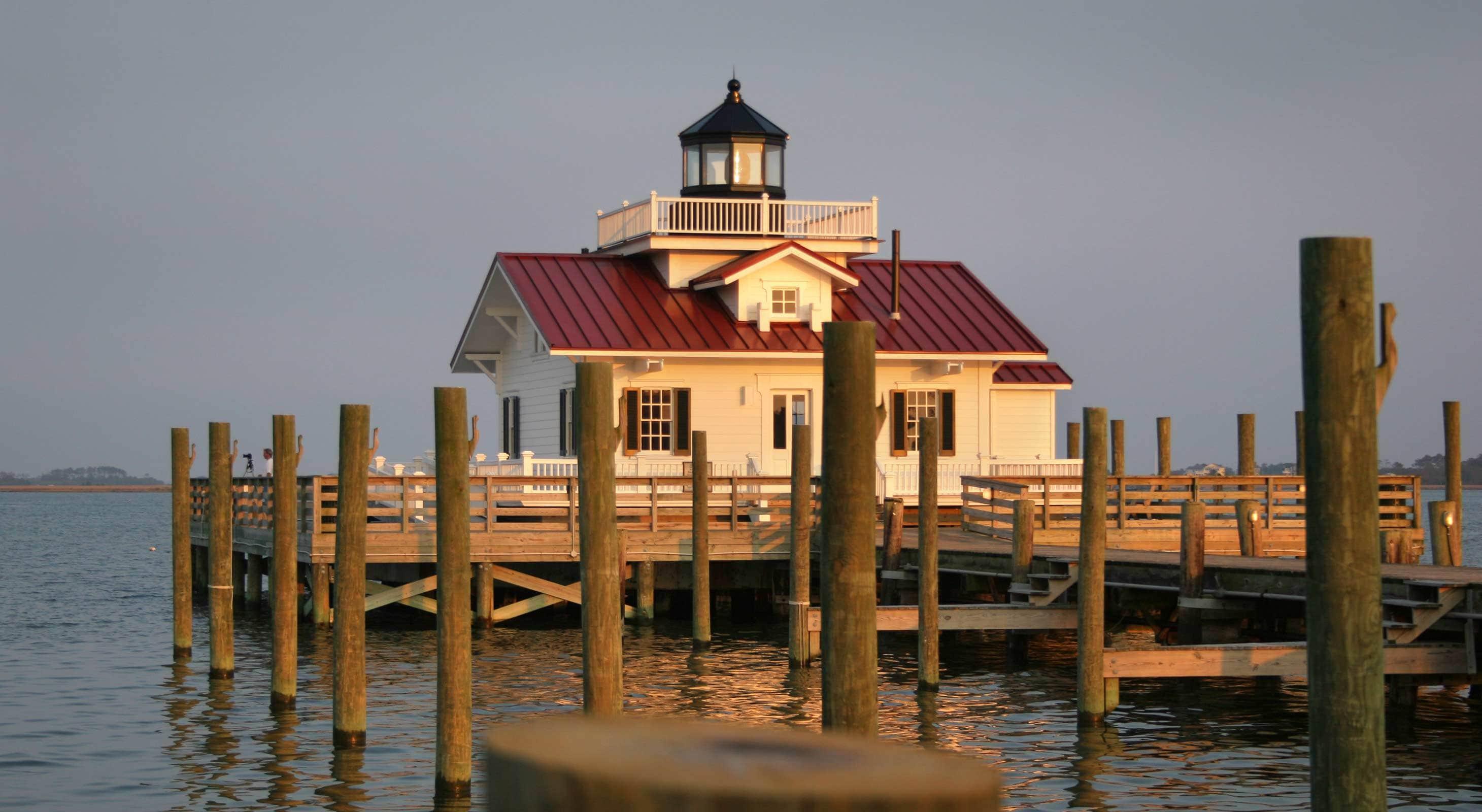 Explore Roanoke Island History at Marshes Lighthouse