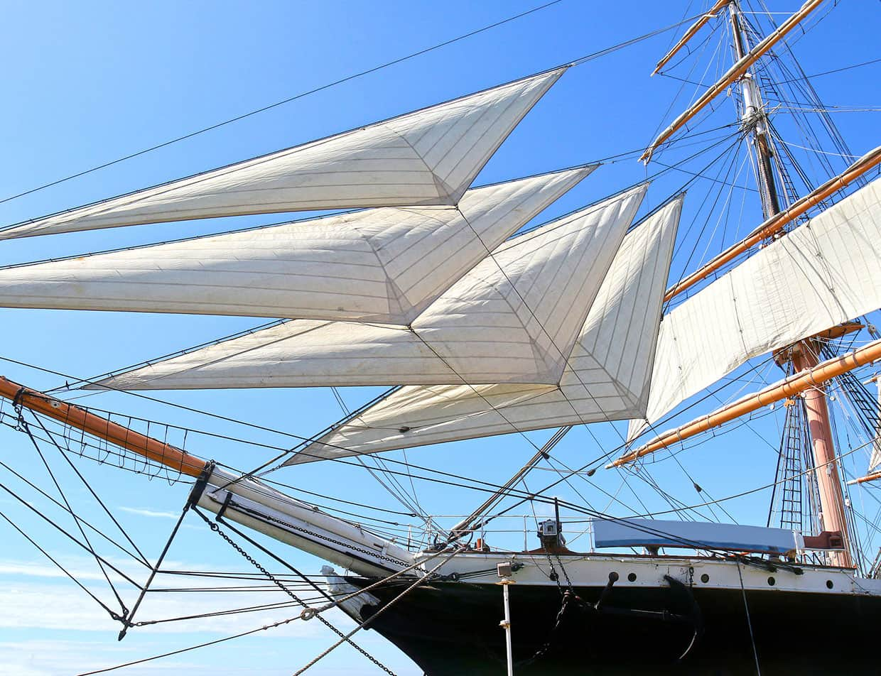 Ride a Schooner Ship, a Top Attraction on the Outer Banks