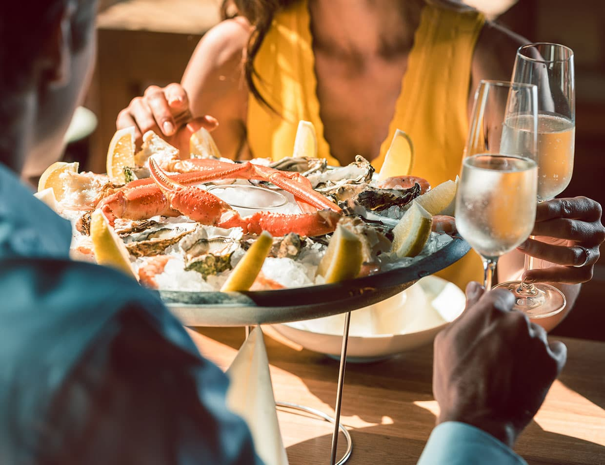 Outer Banks Fine Dining Seafood and Champagne