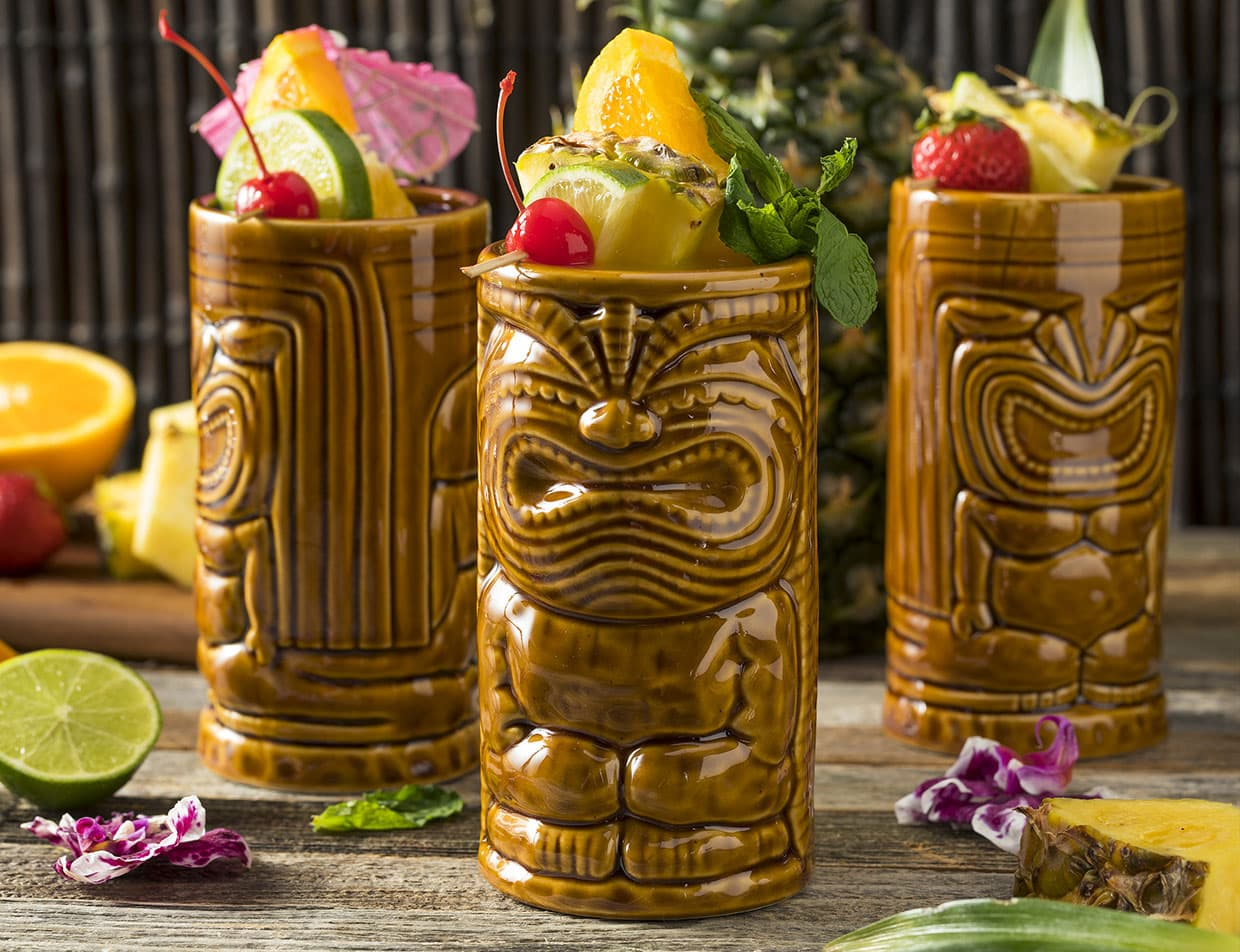 Tiki-Themed Cocktails at a Roanoke Island Restaurant
