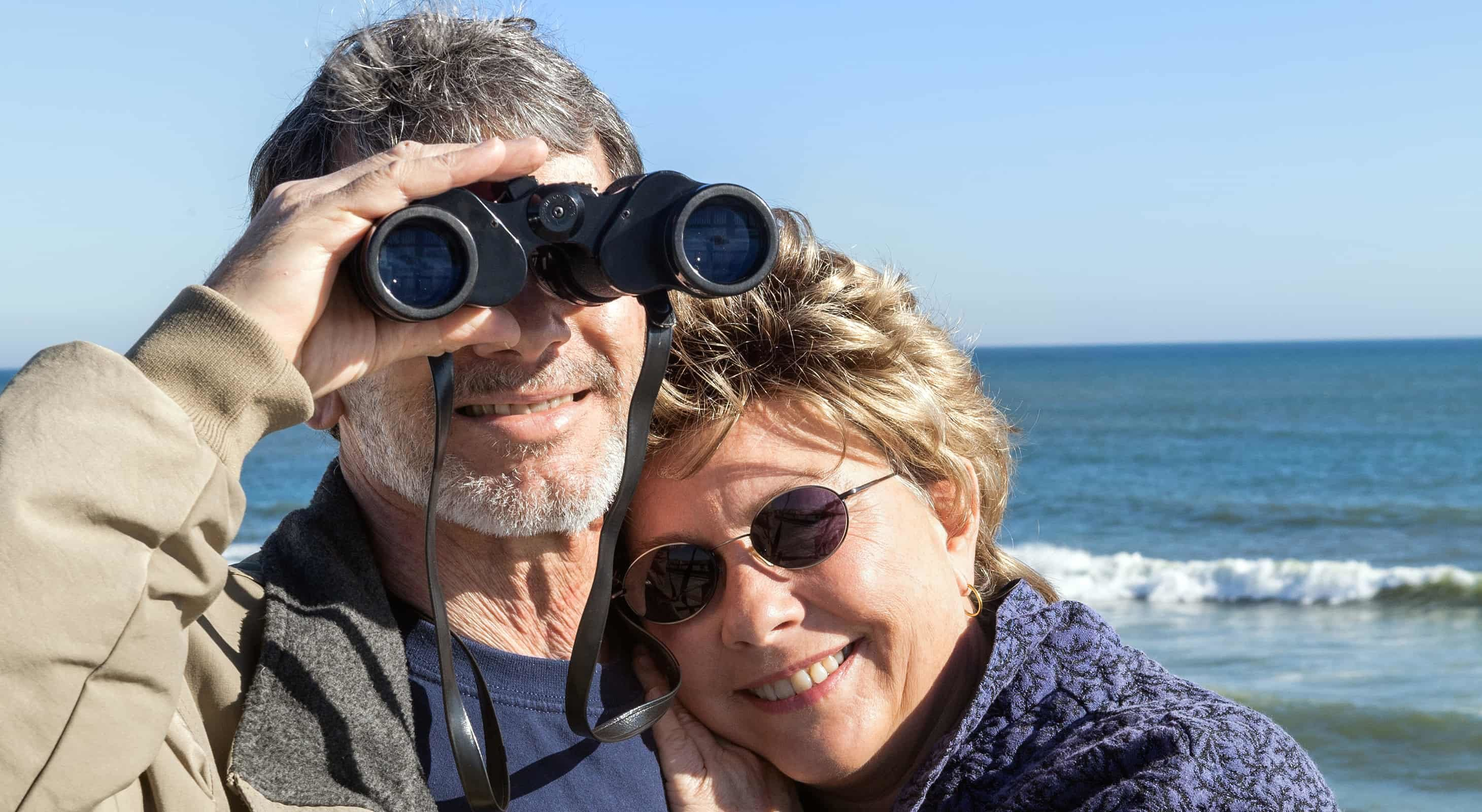 Couple Birding on the Outer Banks
